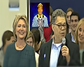 BEFUNKY screenshot hillary clinton al franken portsmouth new hampshire CROPPED