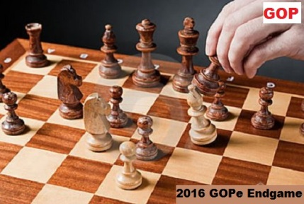 GOP moving pieces on a chessboard