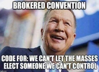 John Kasich brokered convention