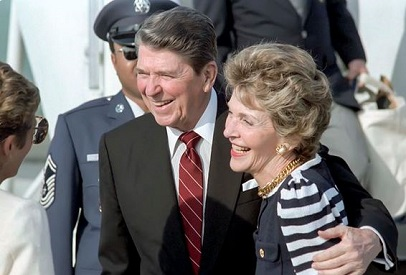 Source Reagan Foundation and Presidential Library/Twitter.