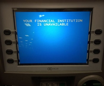 atm money unavailable