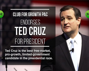 Club for Growth in support of Ted Cruz 2