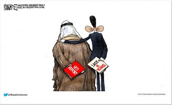 Obama Saudi Arabia 911 Coverup Michael Ramirez Cartoon