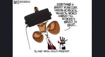 the virtual president