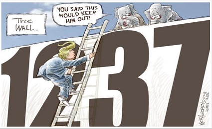 Donald Trump 1237 cartoon