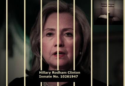 hillary clinton prison