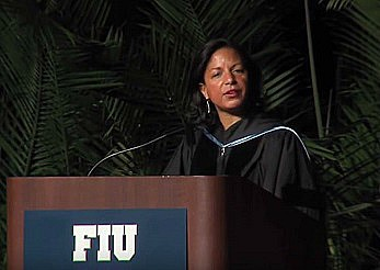 screenshot susan rice florida university