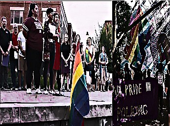 BE FUNKY screenshot black lives matter commandeer vigil for victims of orlando florida islamic terrorist attack and commandeering toronto gay pride event