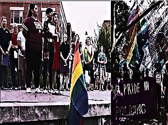 BE FUNKY screenshot black lives matter commandeer vigil for victims of orlando florida islamic terrorist attack and commandeering toronto gay pride event