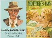 Fathers Day Mothers Day poster