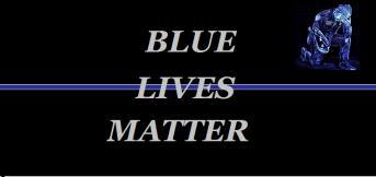 BLUE LIVES MATTER ILLUSTRATION