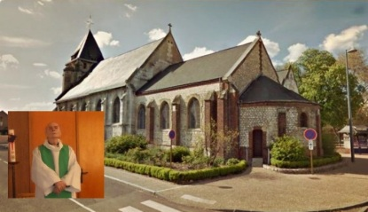 church in ruoen france where 86 year old priest beheaded edited