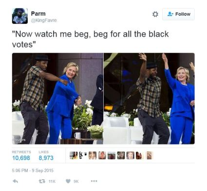 Black Twitter respond to Hillary whip and naenae 002