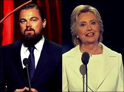 Leonardo DiCaprio hillry clinton Collage_Fotor_Fotor