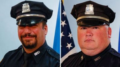 Officer Richard Cintolo and Officer Matt Morris, Boston PD