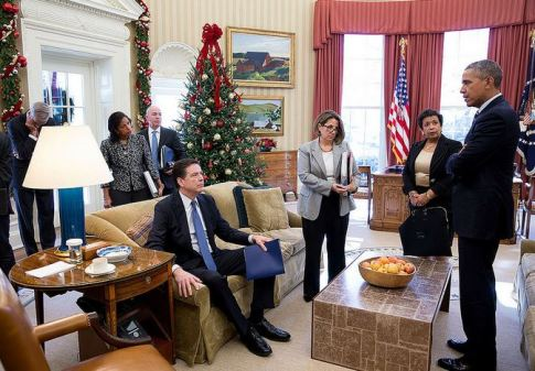 https://pumabydesign001.files.wordpress.com/2016/11/james-comey-barack-obama-susan-rice-and-loretta-lynch-looks-like-obama-is-reading-comey-the-riot-act-photo-12032015-flickr-white-house-photo-stream.jpg?w=485&h=338