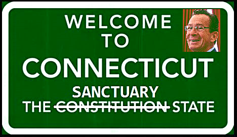welcome-to-connecticut-sanctuary-state-highway-sign-gov-dannel-malloy-headshot-public-domain-images