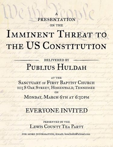 imminent-threat-to-the-u-s-constitution-publius-huldah-march-6th-hohenwald-tennessee
