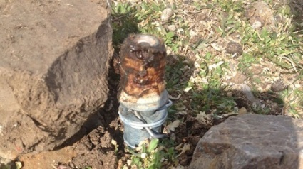 "<span style=""font-size: 8pt; font-family: helvetica,arial,sans-serif;"">M-44 Cyanide aka Cyanide Bomb - Source: Bannock County Sheriff_s Office</span>"