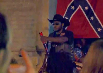 """<span style=""""font-size: 8pt;"""">Andrew Duncomb, the Black rebel, is fighting for our history.</span>"""