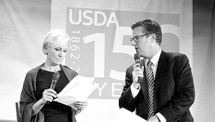 Mika Brzezinski Joe Scarborough [source: USDA_Flickr]