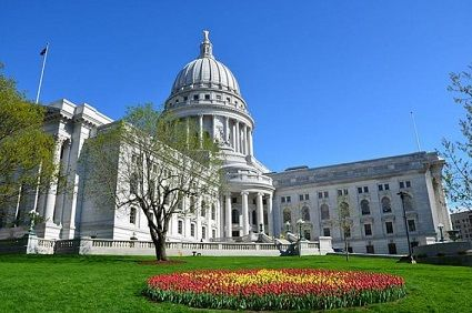"<span style=""font-size: 8pt;"">Wisconsin State Capitol Source: <a href=""https://commons.wikimedia.org/wiki/File:Wisconsin_State_Capitol_Building_during_Tulip_Festival.jpg"">Vijay Kumar Koulampet</a>_Wikipedia (<a href=""https://creativecommons.org/licenses/by-sa/3.0/deed.en"">CC BY-SA 3.0</a>)</span>"