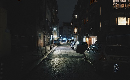 Night, Dark Alley Source: (Pixabay)