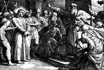 "Woodcut for ""Die Bibel in Bildern"", 1860, between 1851 and 1860.  Painting by: Julius Schnorr von Carolsfeld"