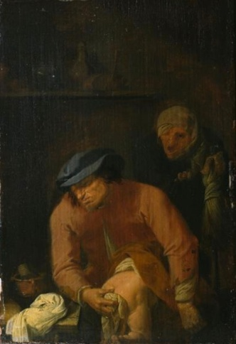 "The Five Senses: Smell by <a href=""https://commons.wikimedia.org/wiki/File:Adriaen_Brouwer_-_Smell.jpg"">Adriaen Brouwer</a> [Circa 1631] Source: Wikipedia"