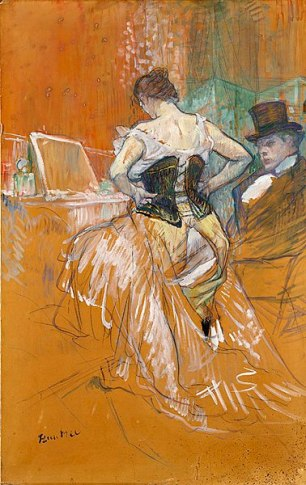 """<span style=""""font-size: 8pt;"""">Conquête de passage Credit: Don Comtesse Alphonse de Toulouse-Lautrec en 1904 (<a href=""""https://commons.wikimedia.org/wiki/File:Toulouse-Lautrec_Conquête_de_passage_(RO_618).jpg"""">Wikimedia Commons</a>)</span>"""