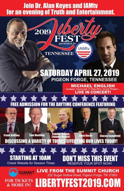 libertyfest flyer Pigeon Forge TN 2019 source publius huldah