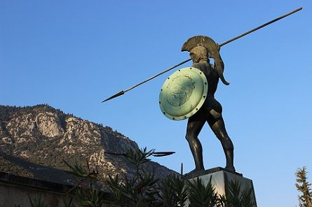 spartan, Greek sculpture, 300 Source: gancheva (Pixabay)